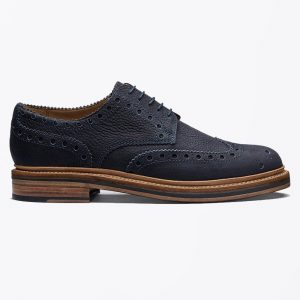 Grenson Navy Brogue