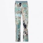 Gustav paisley print trousers