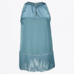 Gustav fringe bottom blouse