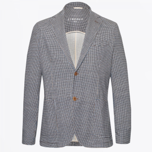 SMALL CHECK JACKET