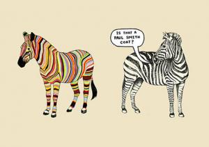 zebra cartoon