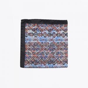 eton aztec print siilk hankerchief