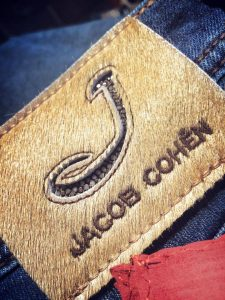 jacob cohen pony leather patch