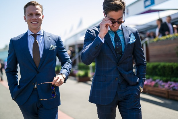 mens fashion the races
