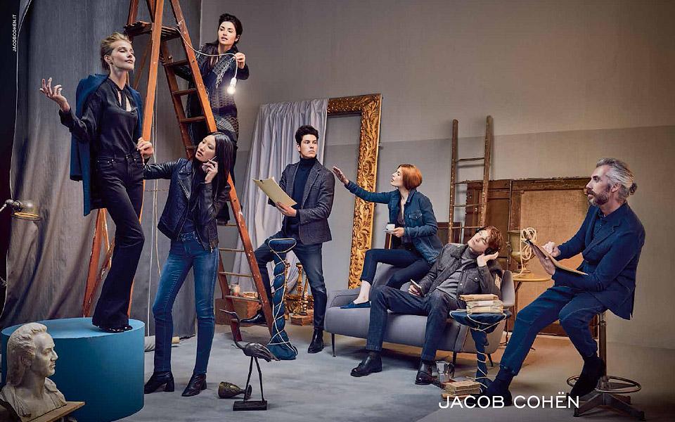 jacob cohen jeans ad