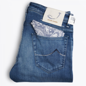 jacob cohen comfort light wash jean