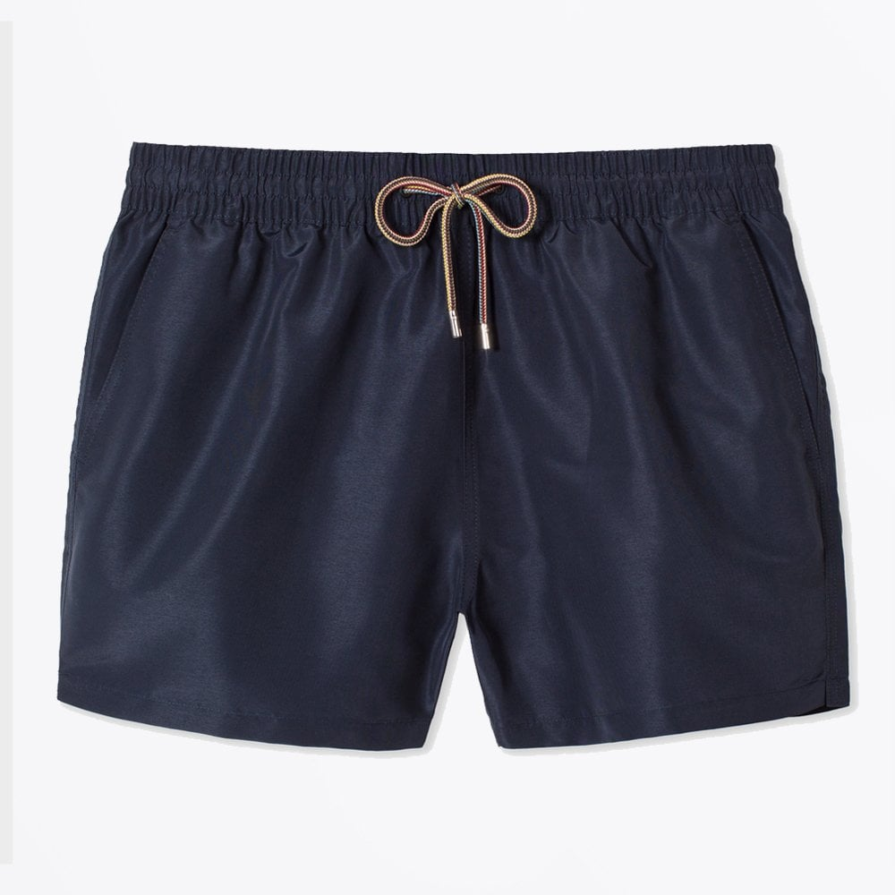 Display of PS paul smith classic navy swim shorts in navy
