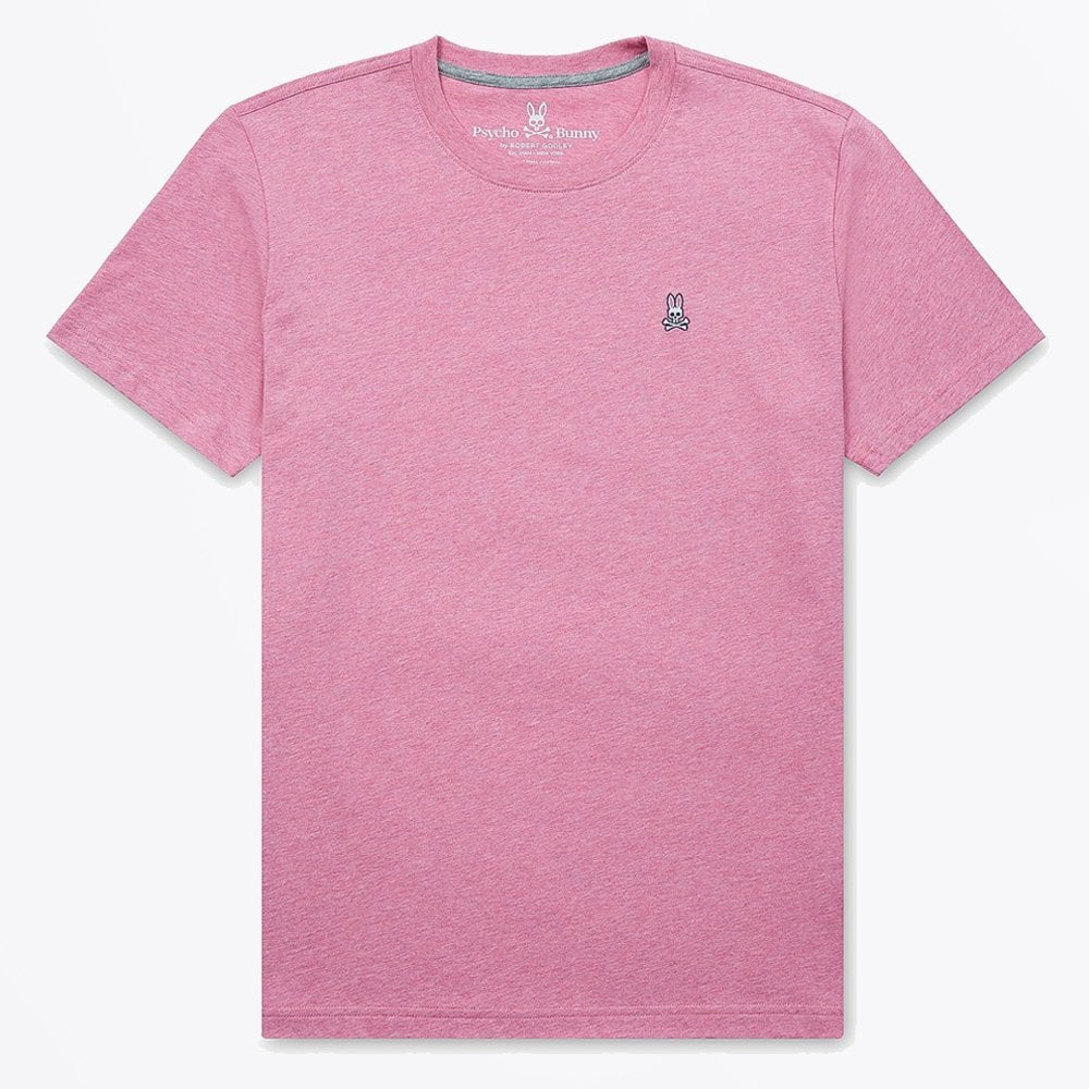 Display of Psycho Bunny heather hibiscus tee